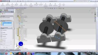 Estudio de movimientos en solidworks