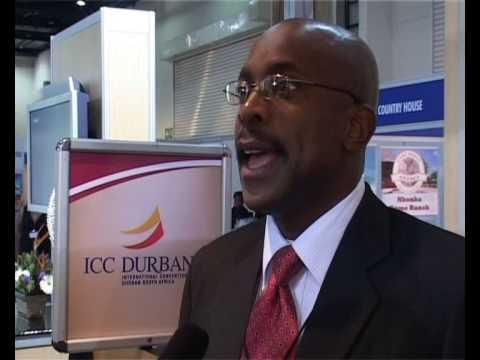 Miller Matola - ICC Durban @ Meetings Africa 2009
