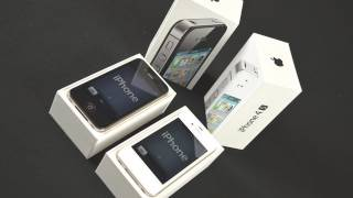 Apple iPhone 4S Unboxing (White & Black)