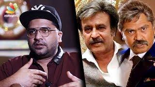 Simbu on similarities between Ashwin Thatha & Rajinikanth : AAA Interview   Tamil Movie Making