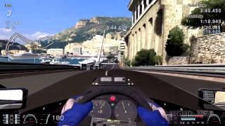 Gran Turismo 6 Gameplay | LOTUS 97T @ Monaco (Cote d'Azur) | Ayrton Senna