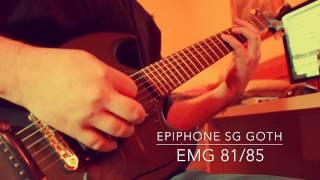 EPIPHONE SG GOTH / YAMAHA THR10X / SHRED OR QUIT