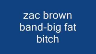 Watch Zac Brown Band Big Fat Bitch video
