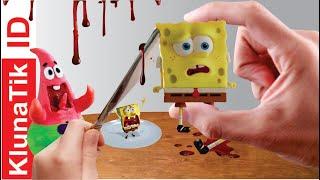 Makan Spongebob SquarePants | Kluna Tik Dinner Eat Spongebob Kluna Tik Style | Kluna Tik ID #6