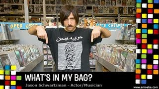 Jason Schwartzman - What's In My Bag?