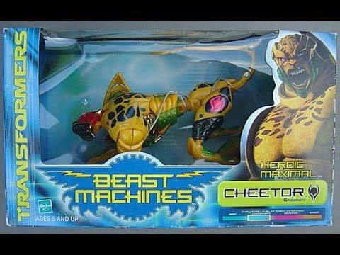 Mega Machines Beast Machines Cheetor Mega