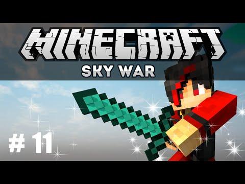 [Minecraft]Sky War Ep.11 โดนไล่ล่า