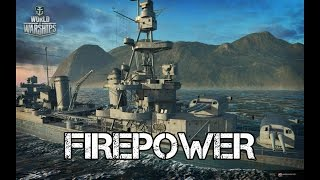 World of Warships - Firepower