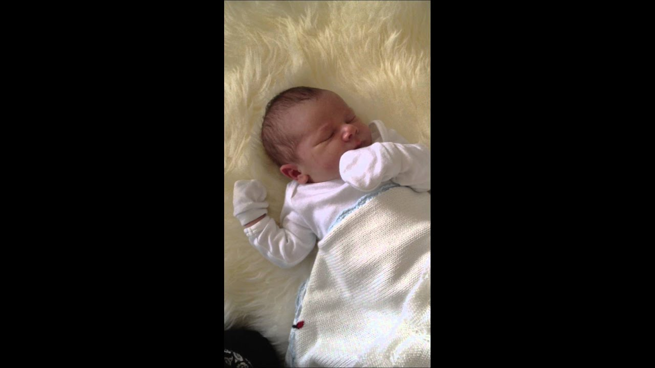 Finlay 5 days old - YouTube