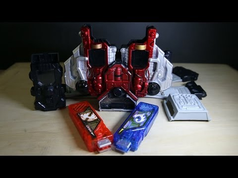Kamen Rider W DX Double Driver Bootleg Review