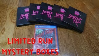 Limited Run - Unboxing Blind Boxes