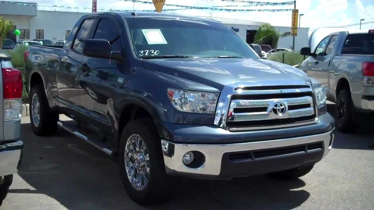 3230 2010 toyota tundra blue with custom wheels youtube. Black Bedroom Furniture Sets. Home Design Ideas