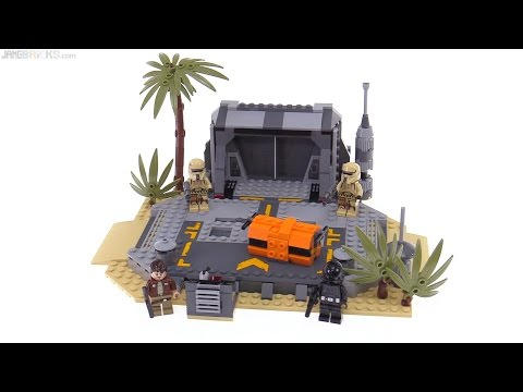 LEGO Star Wars Rogue One Battle on Scarif review! 75171