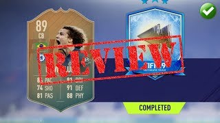 FIFA 19 PLAYER REVIEW | FLASHBACK 89 DAVID LUIZ | MOST OVER POWERED!!!