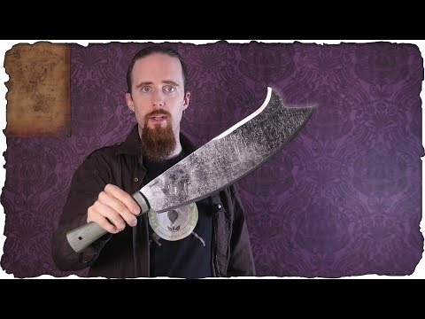 Review: The Baryonyx Machete - Versatility and Cutting Power