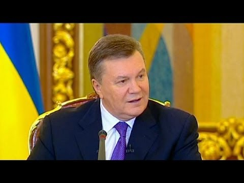 Ukraine's Yanukovych explains Russia and EU ties status, criticises Western politicians