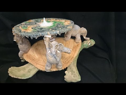video thumbnail: Ceramic Discworld Sculpture - My Degree Work