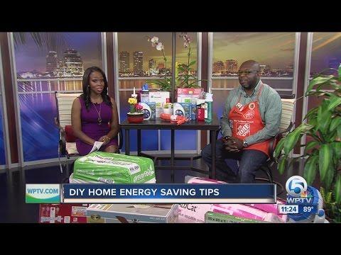 Do it yourself home energy saving tips