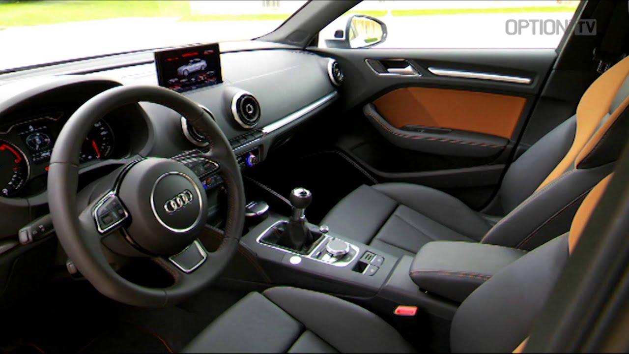 New Audi A3 Sedan Details HD Option Auto News YouTube