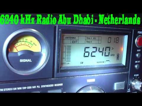 6240 kHz Radio Abu Dhabi , Drachten , Netherlands
