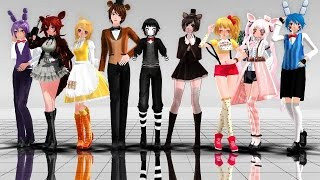 【MMD】《FNAF》 Talk Dirty