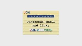 Course description - Dangerous email and links