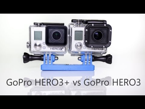GoPro HERO3+ vs. HERO3 Comparison and Review
