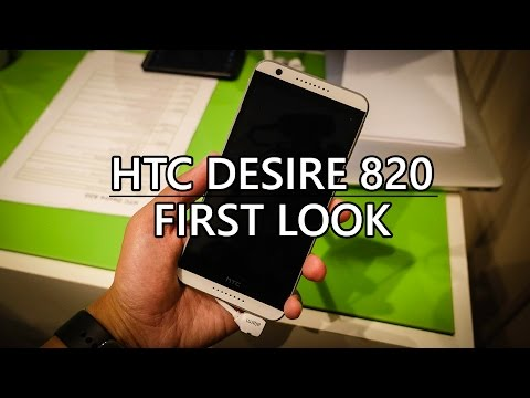 HTC Desire 820 First Look!