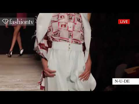 N-u-d-e: New Upcoming Designers Spring summer 2014 | Milan Fashion Week Mfw | Fashiontv video