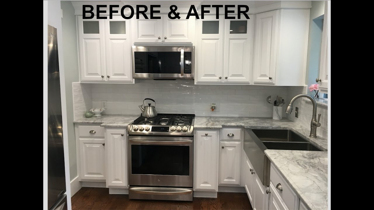 BEFORE & AFTER HOUSE REMODEL