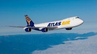 Atlas Air - Boeing 747-400F in Chelyabinsk