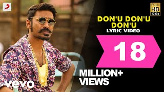 Maari - Don'u Don'u Don'u Lyric | Dhanush, Kajal Agarwal | Anirudh