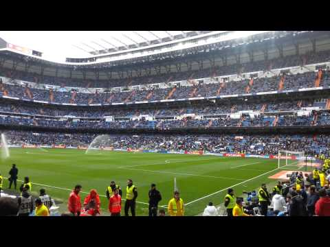 El Santiago Bernabeu Real Madrid 3-0 Elche