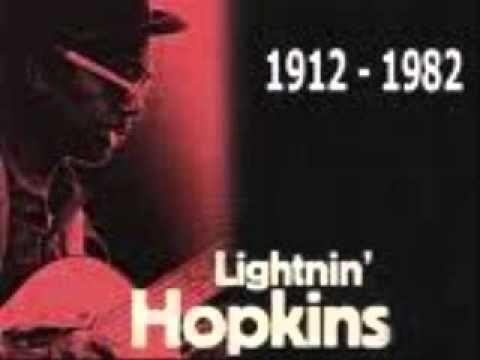 Big Black Cadillac Blues- Lightnin Hopkins