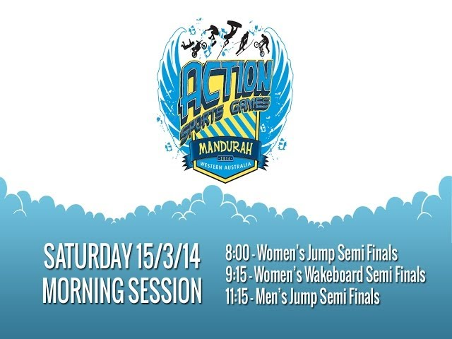 Action Sport Games - Day 1 AM - IWWF 39th World Cup, Mandurah, 2014