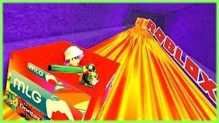 ROBLOX SLIDE DOWN 999,999,999 FEET | POWER OF THE LEAF BLOWER!
