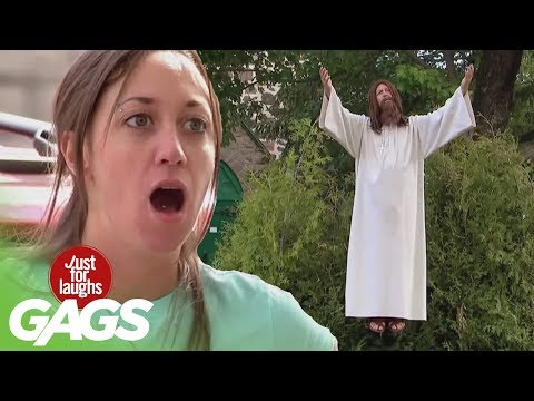 Best Of Just For Laughs Gags- Jesus Pranks