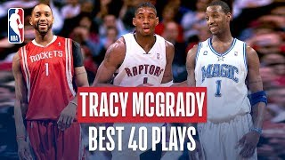 Tracy McGrady's BEST 40 Plays!