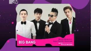 [BIGBANG] 2011 MTV EMA