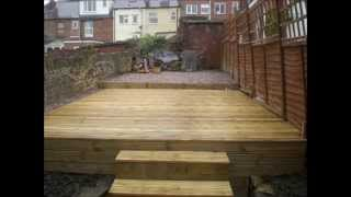 Crookes Decking Landscapers Sheffield