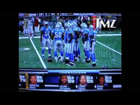 CHRIS MYERS NFL ANNOUNCER SLAMS WHOOPI GOLBERG LIONS GAME SEPTEMBER 13 2009