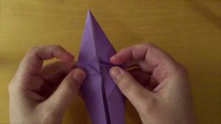 Origami Simple Unicorn (perry Bailey) - Tutorial
