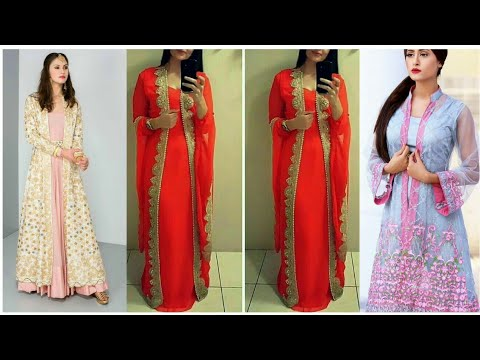 Latest Long Net  Shrug designs || Wedding / Festivals wear Shrug Designs || Diwali Outfits  2018- 19