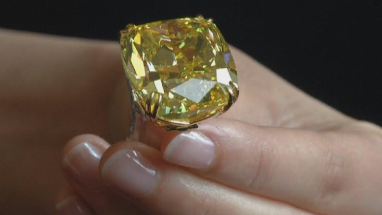 Rare 100 Carat Diamonds Worth Millions Up For Auction