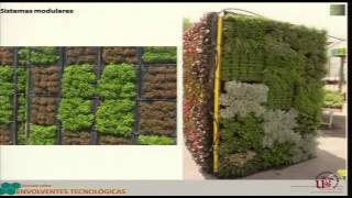 Tecnologías de Naturación: Jardines verticales y Techos verdes, 4 de octubre de 2011
