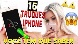 15 TRUQUES ESCONDIDOS NO IPHONE QUE VOCÊ TEM QUE SABER - Lívia Brasil