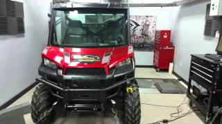 Evolution Powersports Polaris Ranger Tuned Dyno Runs with Maximum Throttle Opening
