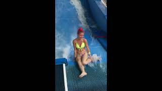 Bikini Girl Flowrider Wave Fail