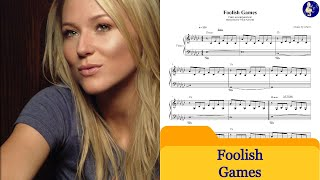 Foolish games - Jewel - (Piano accompaniment)