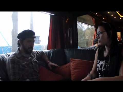 Interview with Ben Weinman (The Dillinger Escape Plan) at Ieperfest 2011 by Brutality Blog
